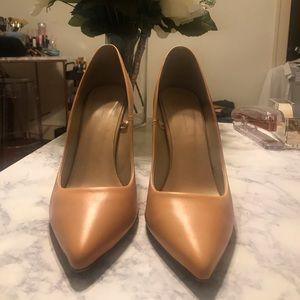 Zara Nude Pumps Size 39/8